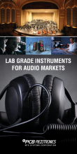 LAB GRADE INSTRUMENTS FOR AUDIO MARKETS