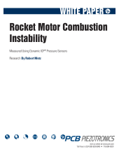Rocket Motor Combustion Instability