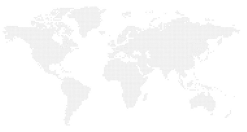 A map of all the international offices
