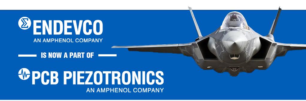 Endevco is now part of PCB Piezotronics!